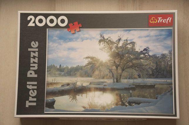 Puzzle Trefl 2000 elementów kompletne
