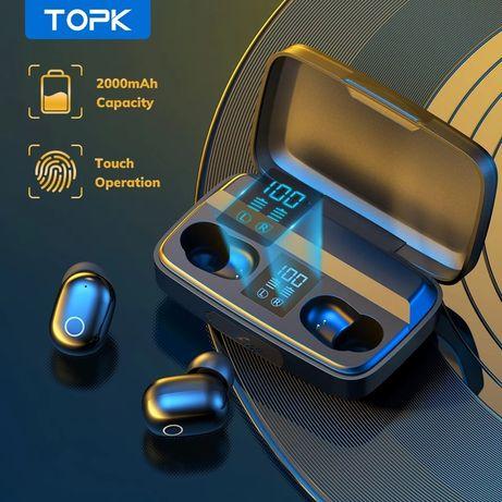 TWS Bluetooth-наушники беспроводные TOPK T10 с Hi-Fi звуком