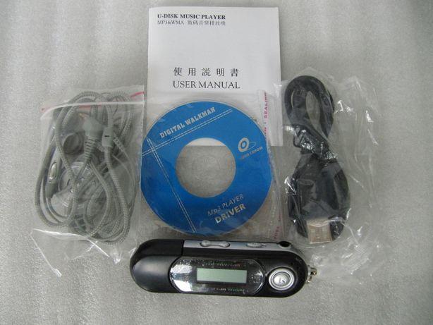 Плеер MP3 диктофон SONY, 36 часов записи, 128 мБ, новый