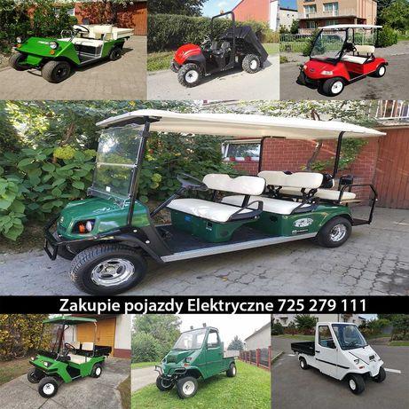 Z akupie Pojazd Elektryczny Melex Meleksa Meleks Melexa Ezgo Club Car