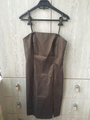 Платье хамелеон хаки оливковое S-M Mexx 38
