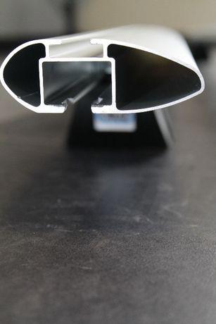 Aluminiowy bagażnik dachowy Ford Mondeo SW V Z relingami zintegr. CRUZ