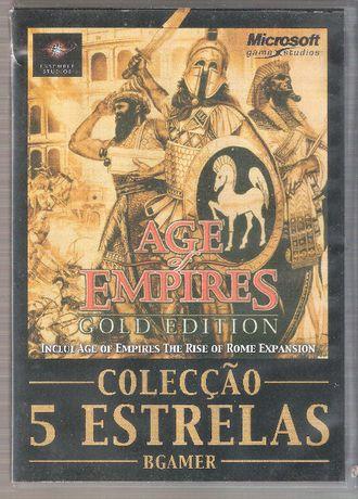 "Jogo DVD ""Age of Empires"" Gold Edition 1998"