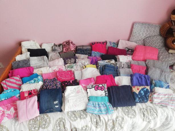 Mega paka ubrań dla dziewczynki