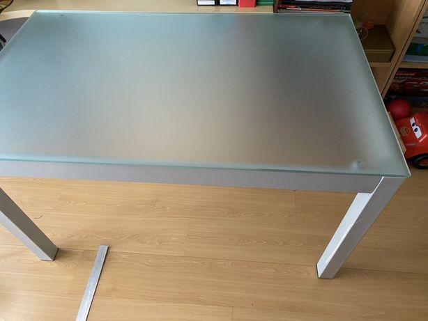 Mesa em vidro - Novo Preço