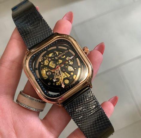 Оригинальные мужские наручные часы Megalith 8202M Black-Cuprum