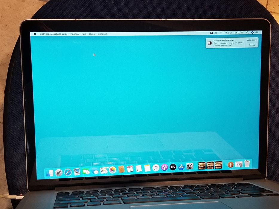 Дисплей крышка apple macbook pro a1398 2012 Новоград-Волынский - изображение 1