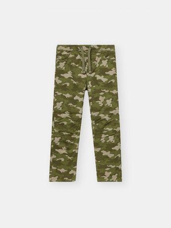 Камуфляжные штаны, брюки камуфляж для мальчика 6 лет. 100% хлопок