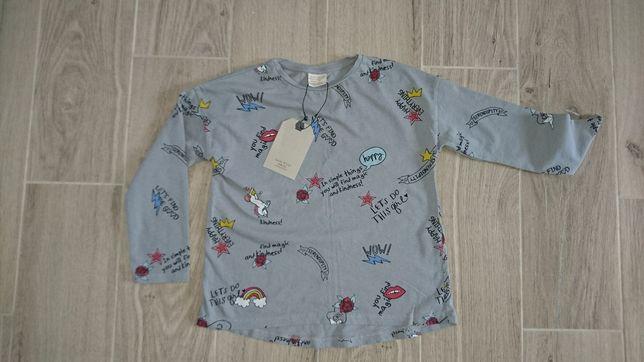 Bluzka Zara nowa 110 116