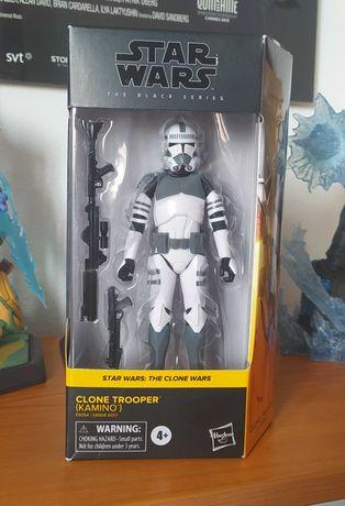 Figura Star Wars Black Series Clone Trooper Kamino