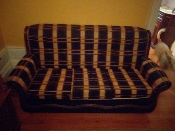 Ótimo e lindo  sofá cama