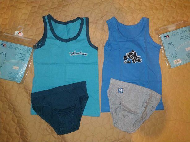 Два турецких комплекта нижнего белья для мальчика