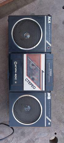 Плеер кассетный с базой расширения