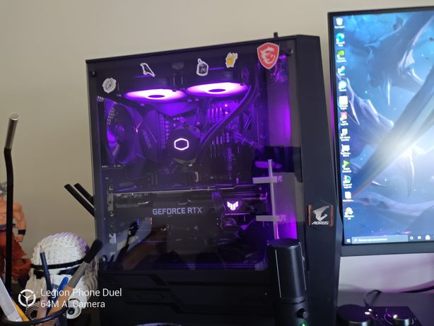 Troco workstation/desktop gaming por portátil gaming