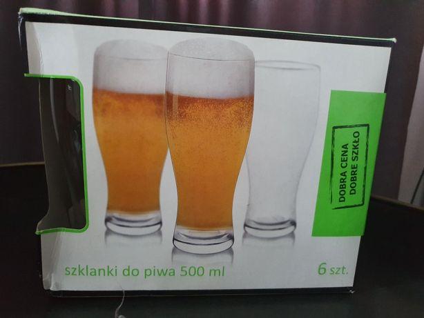 Szklanki do piwa komplet 6 szt.