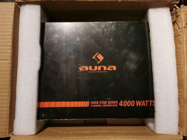 Wzmacniacz AUNA 4000, Subwoofer AXTON