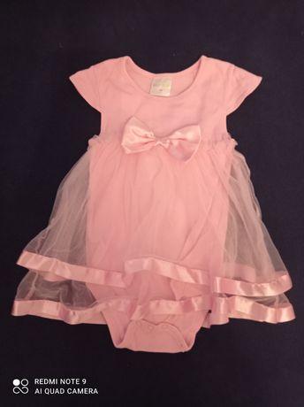 Bodo sukienka różowa