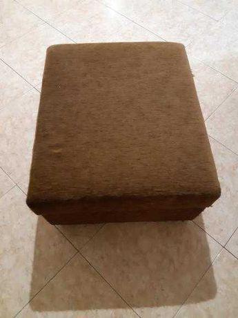 Sofá chaise longue mais complemento