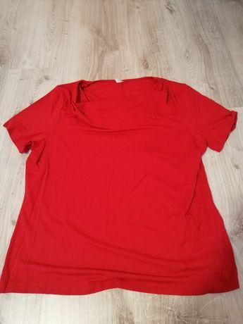 Bluzka czerwona rozmiar 44