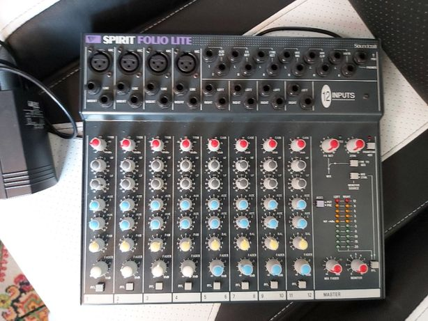 Mixer Soundcraft Spirit Folio Lite 12 wejść