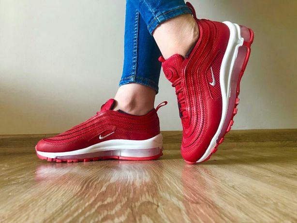 Buty Nike 97. Kolor czerwony. Rozmiar 38. Super cena.