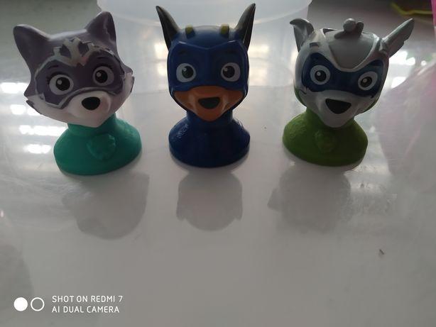 Psi patrol figurki pieczątki z jajek jogurtów Miami