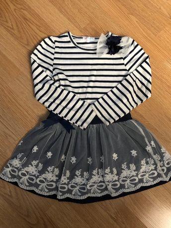 Продам платье в полоску