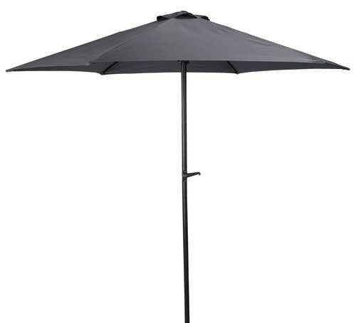 Зонт садовый 2.50 метра Черный