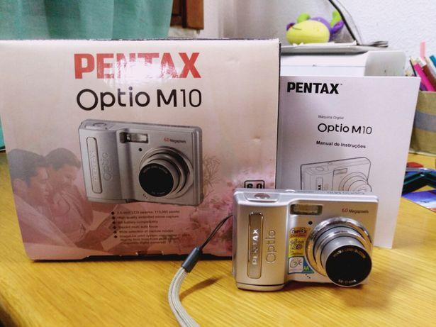Maquina fotográfica pentax optio m10