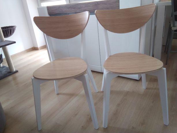 Krzesła bambusowe 2szt. IKEA nowe
