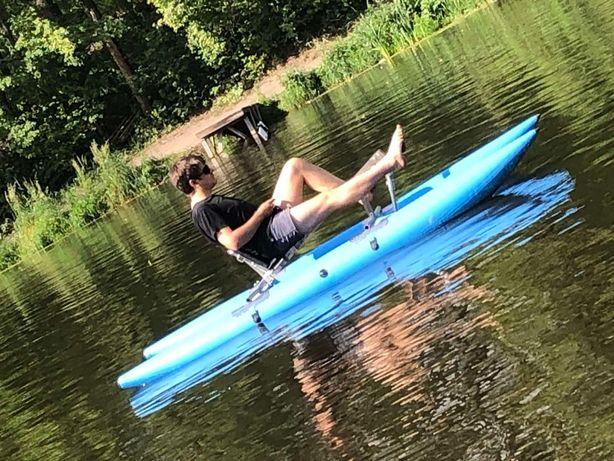 Акция Водный велосипед Waterblade, катамаран новый
