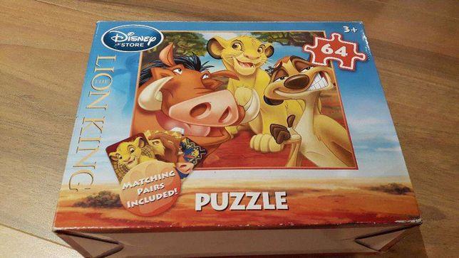 """Puzzle da Disney """"O Rei Leão"""""""