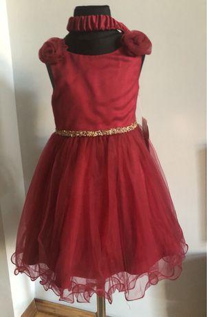Nowa wizytowa sukienka 98/104