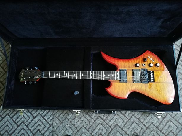 B. C. Rich Mockingbird ST Honeyburst MGST - Gitara elektryczna - Slash