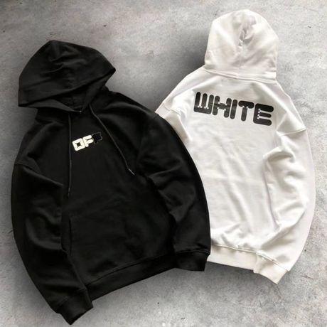 Худи Off White Hall Logo Hoodie