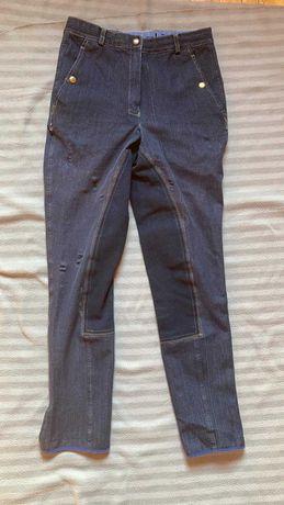 Jeansowe bryczesy rozm. 36/164