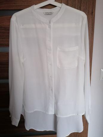 Biała klasyczna bluzka r. 34 Top Secret