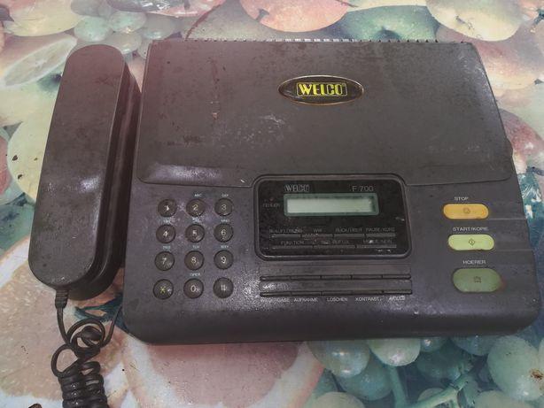 Продам факс б/у и телефон