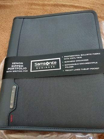 Продам портофолио Samsonite Xenon Business Zip Portfolio, Steel Grey
