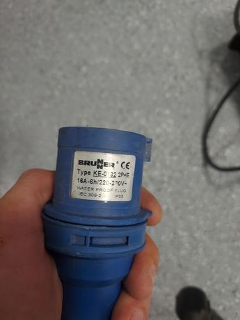 Adapter przedłużacza CEE/Schumacher, przedłużacz kempingowy