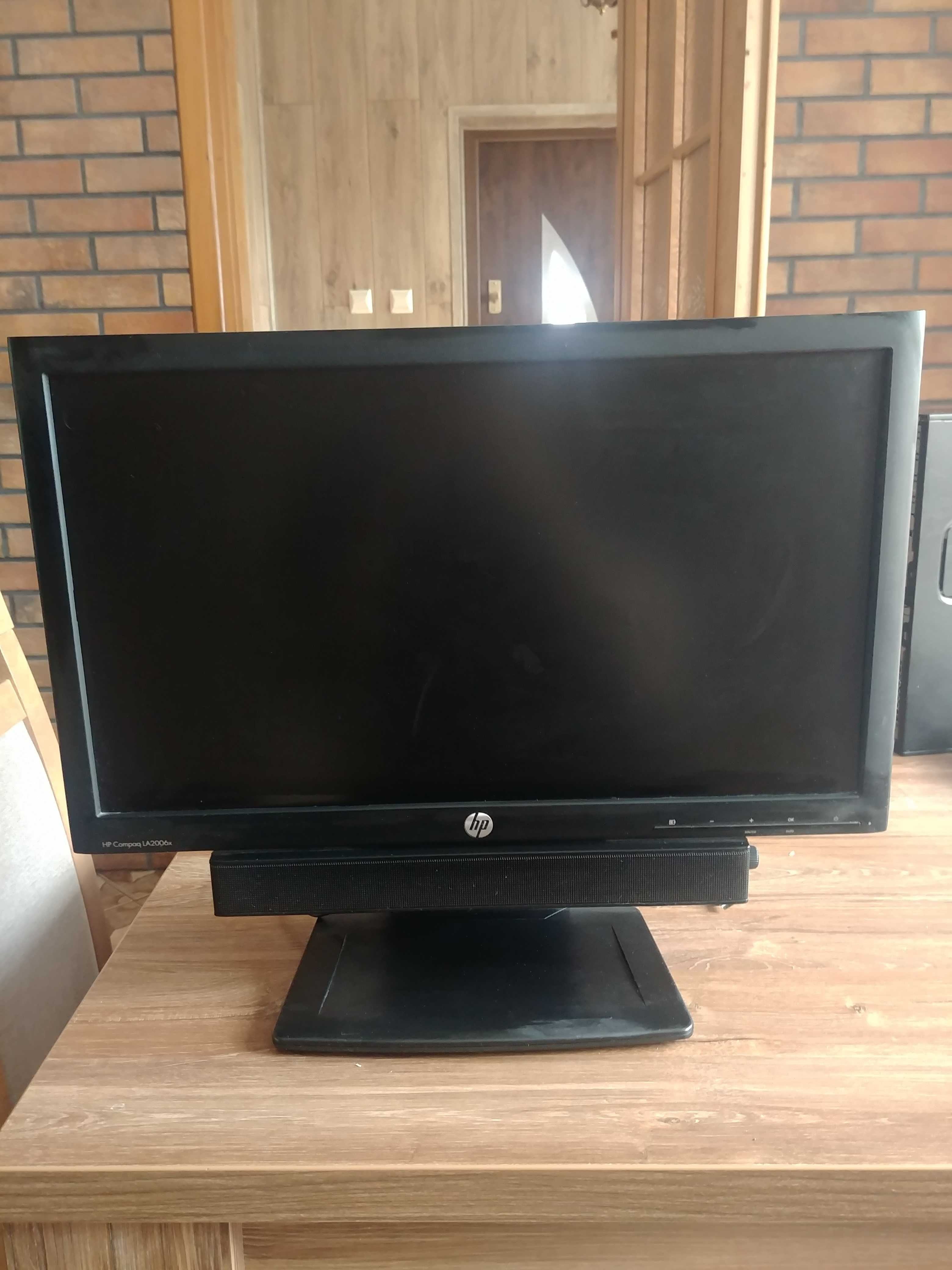 "Monitor HP Compaq LA2006x 20"""