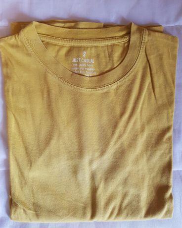 (H) Camisola basica amarelo S - Muito bom estado - 6