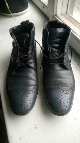 Ботинки strellson 8,5 б/у