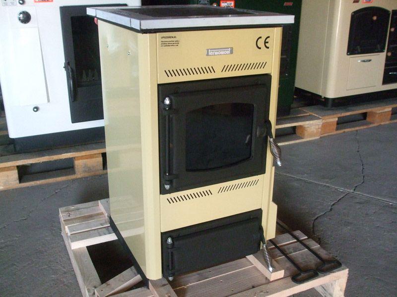 Piec kuchenny Termomont Temy S-10 z funkcją C.O. 10 KW. Śródmieście - image 1
