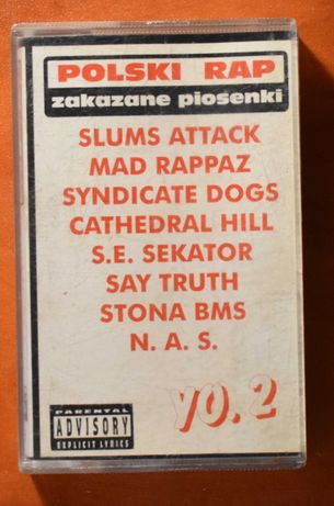 Polski Rap Zakazane Piosenki yo. 2 kaseta