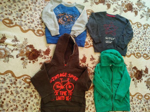 Толстовки, кофточки и свитера на мальчика 3-4 и 1,5-2 года