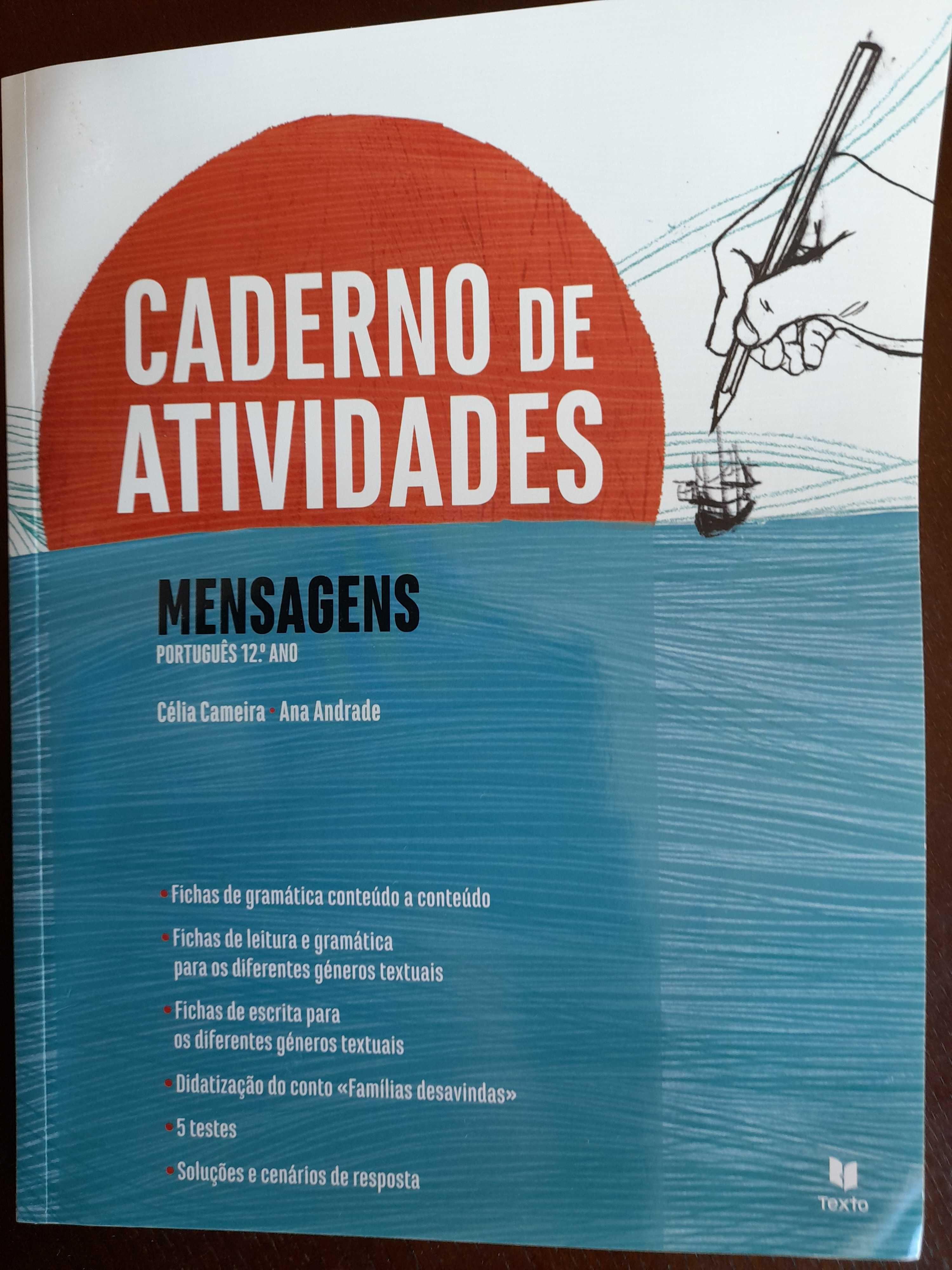Vende-se caderno de atividades + sistematização de conteúdos Português