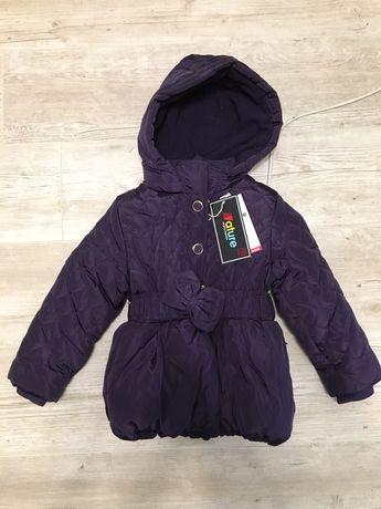 Зимняя куртка на девочку 2/3 года