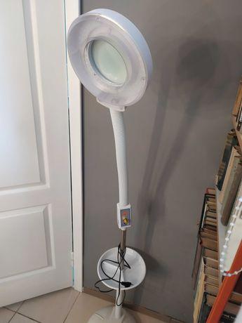 Лампа-лупа напольная с светодиодной подсветкой