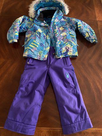 Kombinezon spodnie-+kurtka SPYDER 4-5 lat j. REIMA